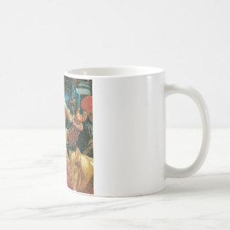 アルブレヒトAltdorfe著(片)イッソスの戦い コーヒーマグカップ