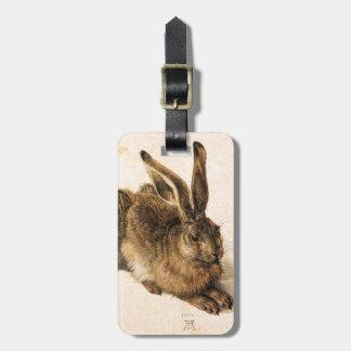 アルブレヒトDurerの若いノウサギの荷物のラベル ラゲッジタグ