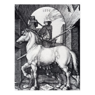 アルブレヒトDurer著小さい馬 ポストカード