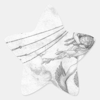 アルブレヒトDurer著雄弁のアレゴリー 星シール