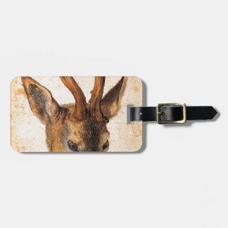 アルブレヒトDurer著雄鹿の頭部 ラゲッジタグ