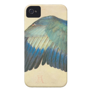 アルブレヒトDurer著青いローラーの翼 Case-Mate iPhone 4 ケース
