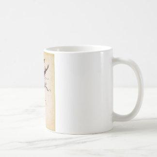 アルブレヒトDurer著Cervus Lucanus コーヒーマグカップ