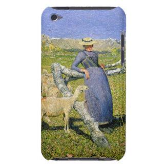 アルプスの午後、1892年(キャンバスの油) Case-Mate iPod TOUCH ケース