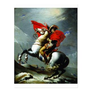 アルプスを交差させているナポレオン ポストカード