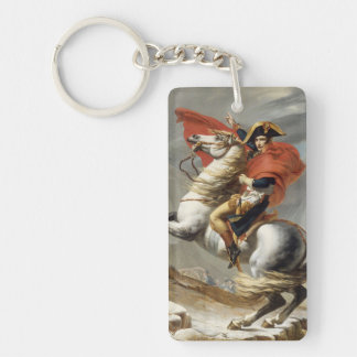 アルプス-ジェイクスルイデイヴィッド--を交差させているナポレオン キーホルダー