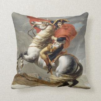 アルプス-ジェイクスルイデイヴィッド--を交差させているナポレオン クッション