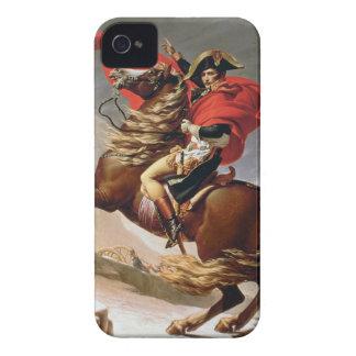 アルプス、c.1800 (キャンバスの油)を交差させているナポレオン Case-Mate iPhone 4 ケース