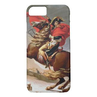 アルプス、c.1800 (キャンバスの油)を交差させているナポレオン iPhone 8/7ケース