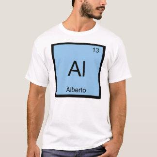 アルベルト一流化学要素の周期表 Tシャツ