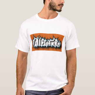 アルベルト2015のマイクロ繊維のTシャツ Tシャツ