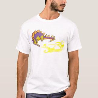 アルベルトRios著子供のステゴサウルスの呼吸の火 Tシャツ