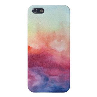 アルペッジォの水彩画のIphoneの場合 iPhone 5 Case