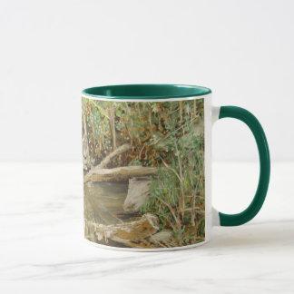 アルマの入り江の水彩画 マグカップ