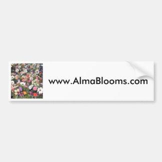 アルマの開花1 バンパーステッカー