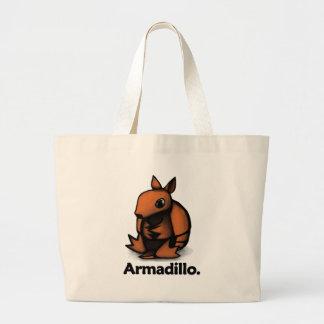 アルマジロのアルマジロ ラージトートバッグ