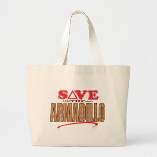 アルマジロの保存 ラージトートバッグ