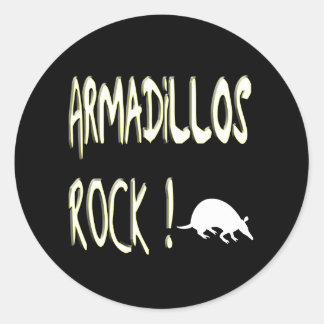 アルマジロの石! ステッカー