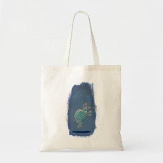 アルマジロの芸術のおもしろいの感動的な確信したかわいい トートバッグ