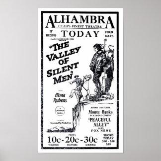 アルマRubensの1922年のヴィンテージ映画広告ポスター ポスター