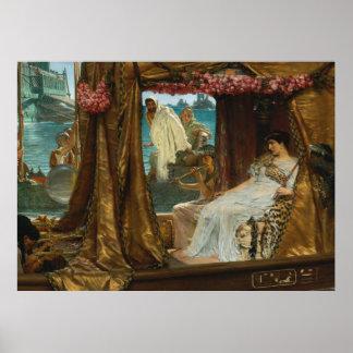 アルマTadema著アントニーそしてCleopatraの会合 ポスター