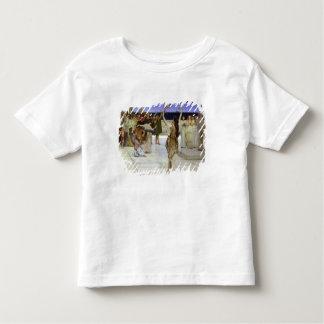 アルマTadema  バッカスへの献呈 トドラーTシャツ