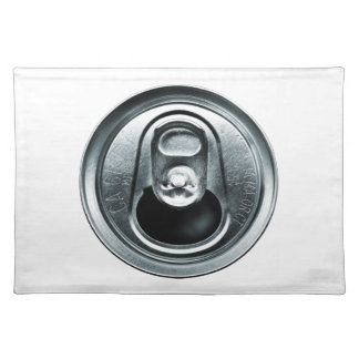 アルミ缶の上のランチョンマット ランチョンマット