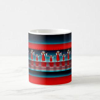 アルメニアのダンサーのマグ コーヒーマグカップ