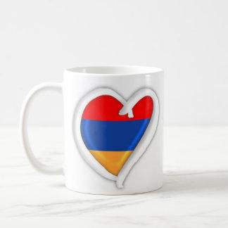 アルメニアのハート|のマグ コーヒーマグカップ
