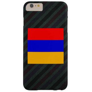 アルメニアの公式の旗はの縞で飾ります BARELY THERE iPhone 6 PLUS ケース