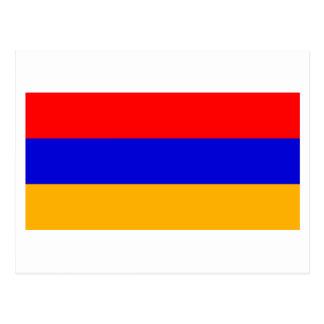 アルメニアの国旗 ポストカード