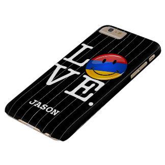 アルメニアの微笑の旗からの愛 BARELY THERE iPhone 6 PLUS ケース