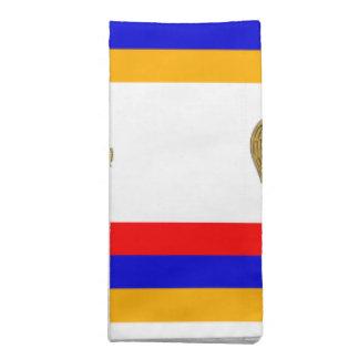 アルメニアの旗そして頂上 ナプキンクロス