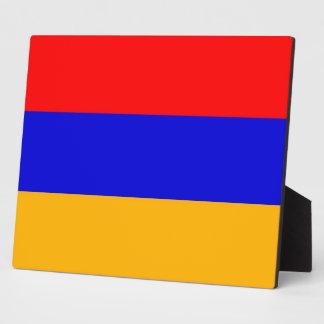 アルメニアの旗のプラク フォトプラーク