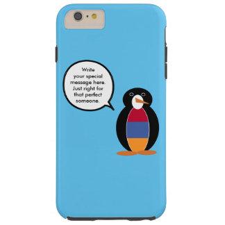 アルメニアの旗の話すペンギン TOUGH iPhone 6 PLUS ケース