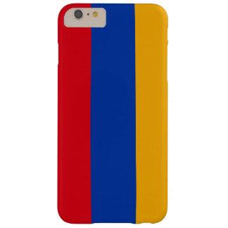 アルメニアの旗の電話箱 BARELY THERE iPhone 6 PLUS ケース
