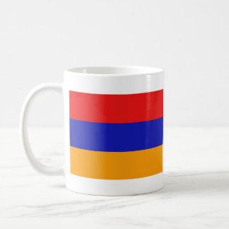 アルメニアの旗の~の地図のマグ コーヒーマグカップ
