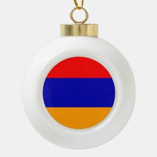 アルメニアの旗 セラミックボールオーナメント