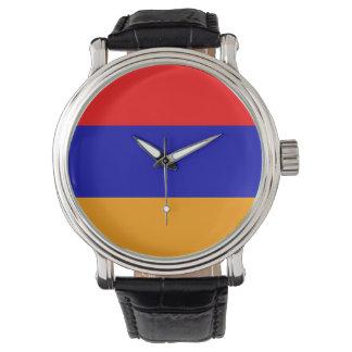 アルメニアの旗 腕時計