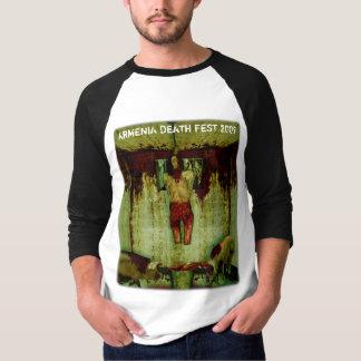 アルメニアの死のFEST 2009年-ジャージー Tシャツ