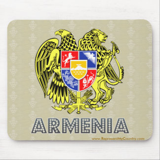 アルメニアの紋章付き外衣 マウスパッド