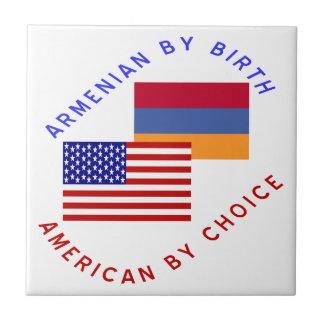 アルメニアの誕生のアメリカ人の選択 タイル