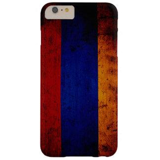 アルメニアの黒くグランジな旗 BARELY THERE iPhone 6 PLUS ケース