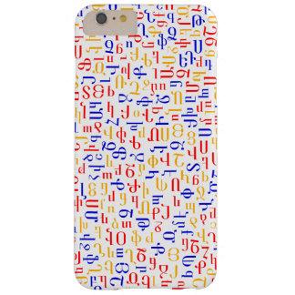アルメニア文字 BARELY THERE iPhone 6 PLUS ケース