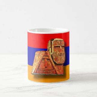 """アルメニア語""""私達および私達の山""""記念碑のマグ コーヒーマグカップ"""