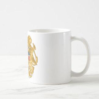 アルメニア-アルメニアの紋章の紋章付き外衣 コーヒーマグカップ
