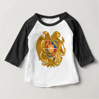 アルメニア-アルメニアの紋章の紋章付き外衣 ベビーTシャツ