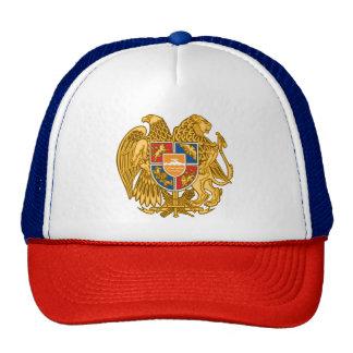 アルメニア-アルメニアの紋章の紋章付き外衣 帽子