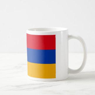 アルメニア- Yeraguynの旗 コーヒーマグカップ
