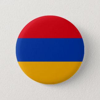 アルメニア- Yeraguynの旗 5.7cm 丸型バッジ